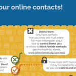 Think about your online contacts! Decision tree: https://t.co/ZKYA4L7Te1 #SID2016 @Insafenetwork https://t.co/rQEvFyspiJ