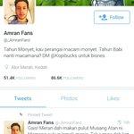Untuk makluman semua, ini adalah fake Amran Fans. Sebarang kes penipuan paid review Amran tidak bertangungjawab.. tq https://t.co/5qVMsVmVIE