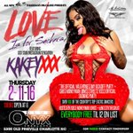 2nite 2nite 2NITE  $3 Thursdays @RealKakeyy invades @ONYXCHARLOTTE EVERYBODY FREE TIL 12  https://t.co/aBqq0Sfakb