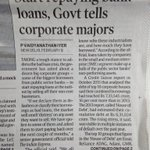 Why Govt is not disclosing the names of defaulters ? Why Modi govt is protecting rogue businessmen ? https://t.co/3GvC4JPtlg