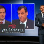"""Marco Rubio got f#@ked so hard he had to take Chris Christie to Red Lobster."" - Trevor Noah. https://t.co/XB3R4PouRf"