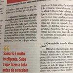 A minha opiniao e que o Samaris e o melhor medio defensivo em Porugal! @SLBenfica @abolapt #CarregaBenfica https://t.co/QjvoTqc6ZF