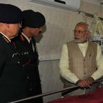 PM @narendramodi visits Siachen survivor Lance Naik Hanumanthappa at Army's Research & Referral Hospital https://t.co/br4V7C31cU