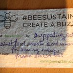 Personal Commitment for sustainibility #beesustain #EMEC16 https://t.co/nhlRLwVF8X