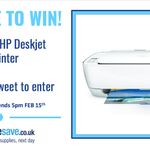#WIN this Hp DeskJet All-in-one printer! RT to win by 5pm Feb 15th Ts & Cs: https://t.co/6alYT1tbSw #competition https://t.co/DjKnWegCzF