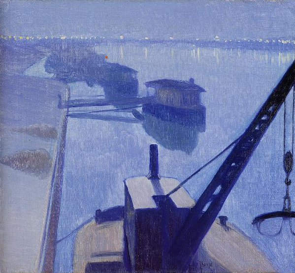 "Charles #Guilloux ""The Seine At Saint-Denis "" #art #artwit #twitart #followart #artist #seine #blue  #mare https://t.co/404xMAhBtN"