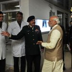 PM visited RR Hospital to enquire about Lance Naik Hanumanthappa. He also spoke to doctors at the hospital. https://t.co/KSHb4NdWCx
