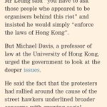 Violent clashes in Hong Kong: a sign of deeper problems or just a law and order issue? https://t.co/c5zOqAvU3O https://t.co/M6bMjptewT
