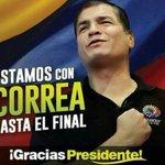 Siempre Contigo @MashiRafael #Alerta10F Ecuador movilizado! El pasado no volverá. #NadieTocaMiRC @JorgeGlas @35PAIS https://t.co/zkfCygSBpd
