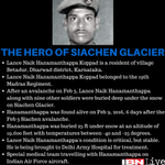 #SiachenMiracle | Lance Naik Hanamanthappa cheated death on Siachen glacier Let us pray for the braveheart https://t.co/9TMJmbd7CN