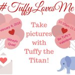 Come take a selfie with Tuffy and get candy TOMORROW, 2/9 from 10:30am-11:30am, in the Mihaylo Quad! #TuffyLovesMe https://t.co/QjuGRO45r3