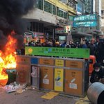 Protester violence in Mong Kok & police reaction condemned by political and activist groups https://t.co/z6BPqiYnTY https://t.co/y1UGtZ6EAl