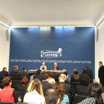 Joint press conference of FMs of #Armenia and #Sweden. @SweMFA @margotwallstrom @martinaquick @SwedeninArmenia https://t.co/dwSbSRRYG6