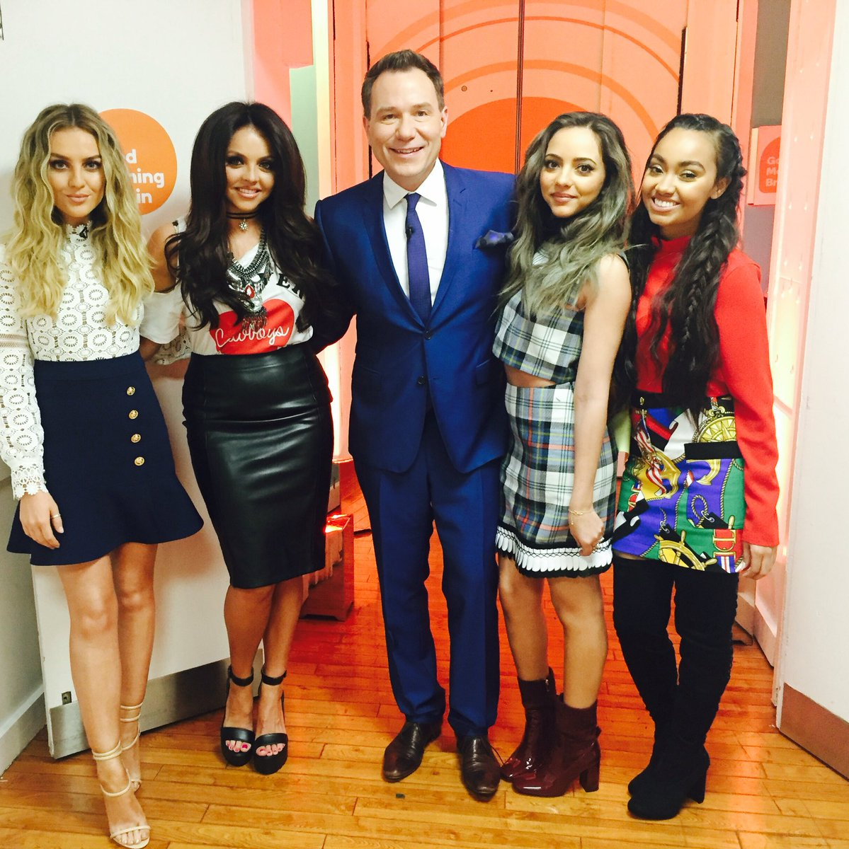 .@LittleMix @GMB catch the chat with @benshephard @susannareid100 at 750 & 820 #PancakeDay #GetWeirdTour #LittleMix https://t.co/INtwNKXnGV