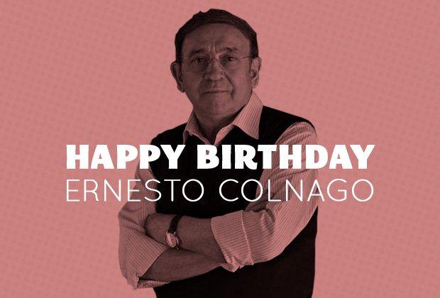 Happy birthday Ernesto Colnago https://t.co/Tf4I3GDuoC