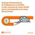 Cs renuncia al coche oficial que corresponde a nuestro representante en la mesa de las cortes @be_rosado https://t.co/2P4TAnbnpA