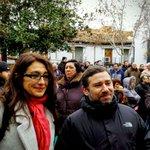 La mani de apoyo a #Los8deAirbus llega a la Plaza de la Constitución de Getafe #HuelgaNoEsDelito https://t.co/H9D5mE5RD7