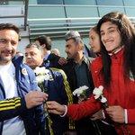 Fenerbahçe, Diyarbakırda çiçeklerle karşılandı. https://t.co/rePMQy8QRO