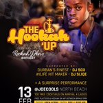 #TheHookahUp13Feb Celebrating @Rockah_Dbn bday, featuring Dbns Finest @DJSOXsa   https://t.co/gHrwoGgsrE