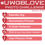 Today we want to see your love for your roommates and friends. Share a shoutout with #uwgblove! https://t.co/7XAKyO2lzM