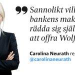 """Swedbanks besked kan översättas till """"det råder kaos i banken och någon måste offras"""": https://t.co/j6l2NmbYcE https://t.co/hdzphEQREc"""
