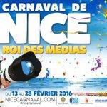 Cest parti jusquau 28 février pour le @nice_carnaval ac sa Majesté « Roi des Médias » #CarnavalNice  #nice06 https://t.co/iCYd2h4l5A