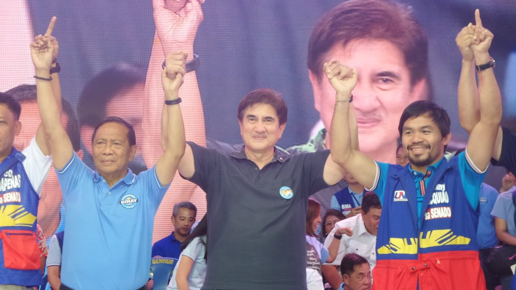 UNA Kick-off Rally | @VPJojoBinay @PartidoUNA @BinayTeam #TeamHonasan #Honasan2016 #PatasAngLaban https://t.co/8Rx5ruui6Z