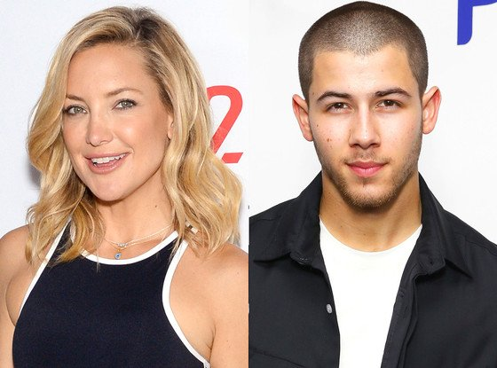 Were Nick Jonas and Kate Hudson flirting at a Super Bowl party? Not so fast...