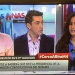 """.@begonavillacis """"en Cataluña @ahorapodemos ha votado en contra de eliminar aforamientos"""" #CercoaRitaM4 https://t.co/sIW11NTyYc"""