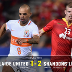 FT | #AUFC 1-2 Shandong Luneng. An unfortunate result sees us go down to the Chinese. #ADLvSHD https://t.co/Jm5X0ttXQN