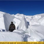 More images just in from the Siachen rescue site. #SiachenMiracle https://t.co/Yw0jAksKac