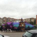 La sardina navega por la ciudad ???????????? #Burgos @Burgosenelmundo https://t.co/LHw93CP2cd