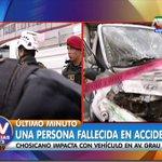 [#ENVIVO] Accidente la Av. Grau deja un muerto y varios heridos #ATVNoticiasAlDía ►https://t.co/3lEAlwQS8I https://t.co/TXuy73xjN1