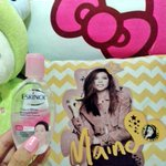 For Linis-Kinis skin, use @EskinolPH . Oh di ba, ang lakas maka-MENGGAY!???? #prouduser @mainedcm #VoteMaineFPP #KCA https://t.co/OYwcVkp4Gn