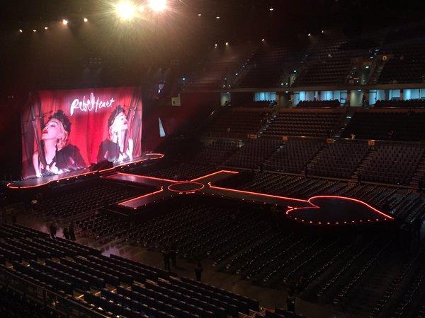 The Stage in Thailand #Madonnaliveinbkk https://t.co/bDkCyGfCBX