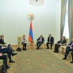 FM Wallström met with President Sargsyan. Armenia+Sweden enjoy good cooperation bilaterally & in international orgs https://t.co/GMK2Cx6p0l
