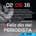 Hoy es el #DíaDelPeriodista en Colombia. ¡Feliz Día a todos los que ejercen esta importante labor! https://t.co/TRW9jJgdMG