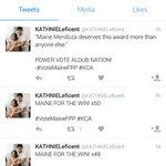 REPORT & BLOCK! They are using bots to discredit our votes for Meng  MAINE FOR THE WIN  #VoteMaineFPP #KCA https://t.co/GIdT41zLrO