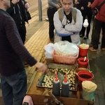 First food carts out on Portland Street 20:30 #fishballrevolution https://t.co/JgxaT0dOAt