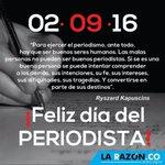 ¡Feliz Día del Periodista en Colombia! Etiqueta a tu amig@ #Periodista. @CPCMonteria @FECOLPER @FLIP_org https://t.co/63j3rQOBSY