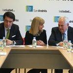 La alcaldesa @EugeniaGancedo encabeza la reunión del consejero de Fomento con miembros de la corporación #SanAndres https://t.co/ArEpHkyjnb