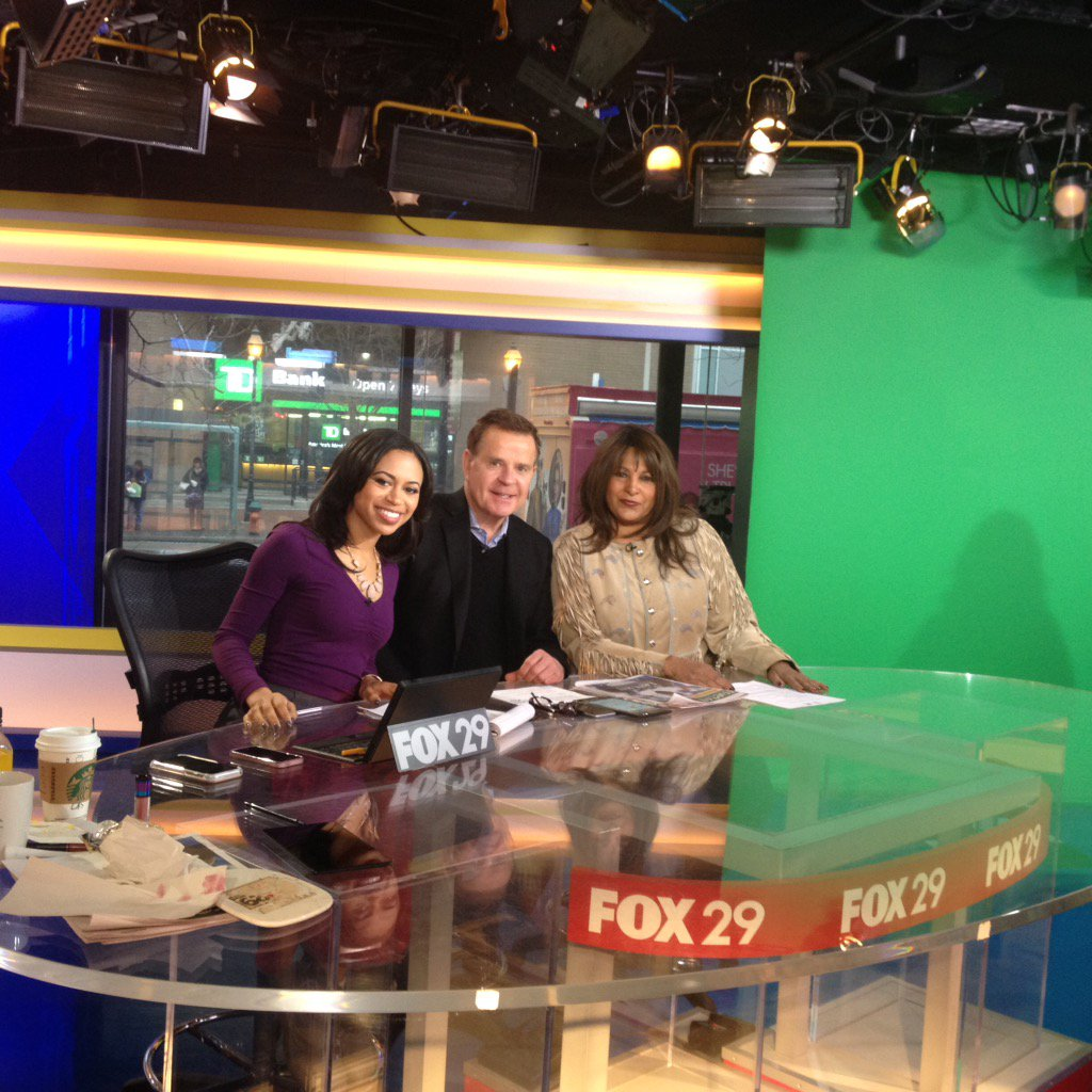 Tune into @FOX29philly live to see the lovely @PamGrier ! https://t.co/5zqC6lhH01