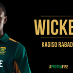 WICKET! Another as Rabada strikes for 2nd time in 3 balls, getting Buttler for 0 #MomentumODI #SAvENG #ProteaFire https://t.co/2UrKshzujo