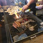 My favourite grilled lamb rack and clams in Mong Kok now. Quite calm tonight. https://t.co/I6fLFlBZ4N