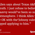 .@mattmosley: I dont buy Johnny Manziel culture as the reason Kyle Allen left Texas A&M https://t.co/pct5EVw96z https://t.co/jTp21kwifw