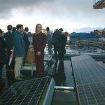 En #Leiden is weer een zonnedak rijker! Vandaag dak met 95 panelen van LSV @minerva officieel geopend #duurzaam2030 https://t.co/EdUhCTyAsS