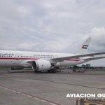 Todo listo para la partida del 787 #Dreamliner de la ciudad de #Guayaquil. Próxima parada Bogotá. https://t.co/ZO3R2aArzF