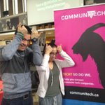 Got to love when @UWaterloo engineers get excited about @Communitech at the #startupshowcase thanks @UWEntSoc https://t.co/96oHSKnvna