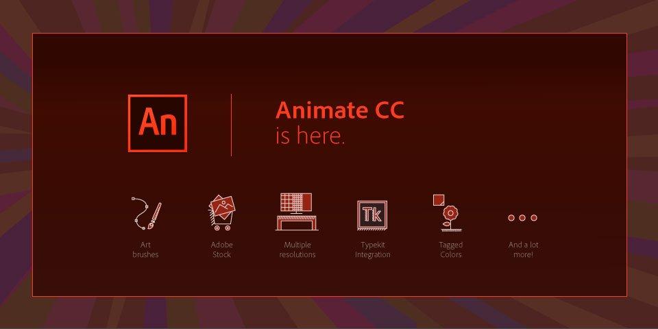 Adobe ha lanzado Animate CC oficialmente, bye bye Flash https://t.co/BpAjZhXGuF #RanasCreativas https://t.co/OuDykmEbiv