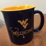 RT to win! Warm up with a hot cup of cocoa in this @WVUMedSchool mug! Well give away one here and on Facebook #wvu https://t.co/g7dJHTT4G5
